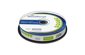 DVD-R MEDIARANGE 120' 4,7Gb 16x CAKE/10